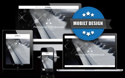 Ny professionel hjemmeside